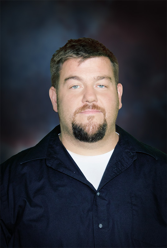 Andrew Lemke, Maintenance and Fabrication Manager